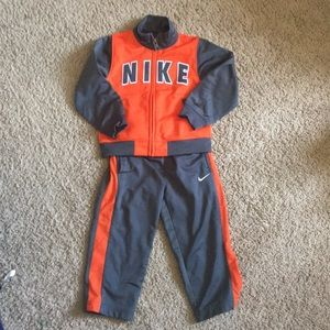 Nike warm up suit